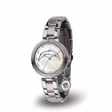 San Diego Chargers Charm Womens Watch