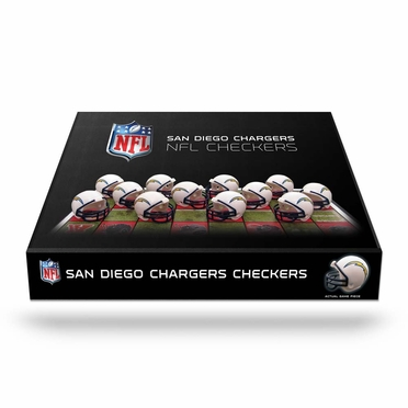 San Diego Chargers Checkers Set