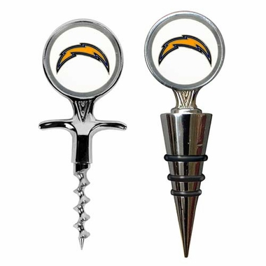 San Diego Chargers Corkscrew and Stopper Gift Set