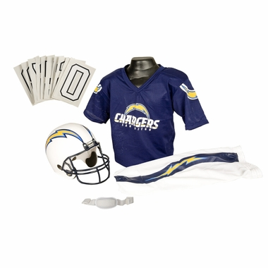 San Diego Chargers Deluxe Youth Uniform Set