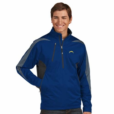 San Diego Chargers Mens Discover 1/4 Zip Pullover (Team Color: Navy)