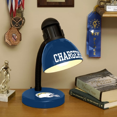 San Diego Chargers Dorm Lamp
