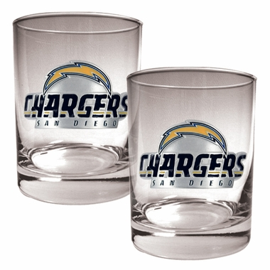 San Diego Chargers Double Rocks Set