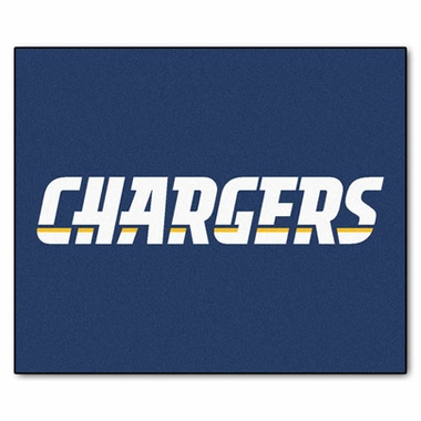 San Diego Chargers Economy 5 Foot x 6 Foot Mat