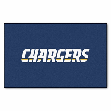 San Diego Chargers Economy 5 Foot x 8 Foot Mat