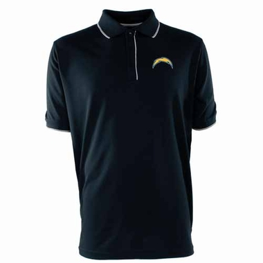 San Diego Chargers Mens Elite Polo Shirt (Team Color: Navy)