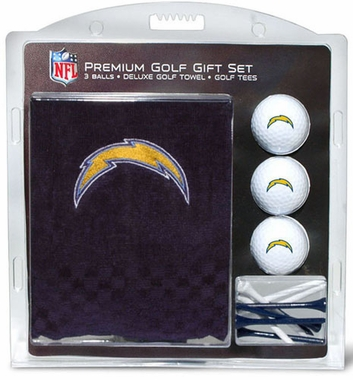 San Diego Chargers Embroidered Towel Gift Set