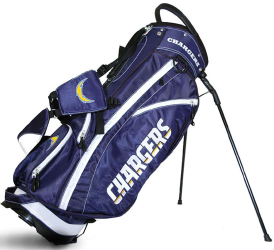 San Diego Chargers Canopy: San Diego Chargers Fairway Stand Bag