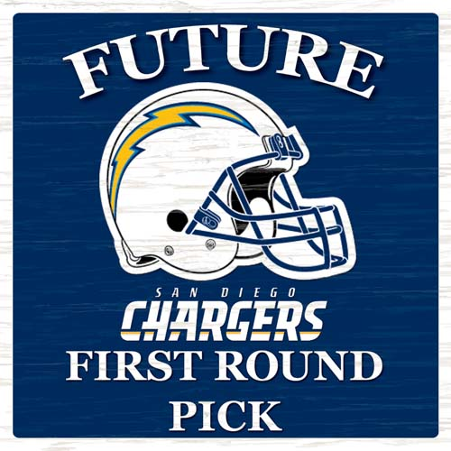 San Diego Chargers First Round Pick Sign