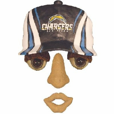 San Diego Chargers Forest Face