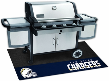 San Diego Chargers Grill Mat