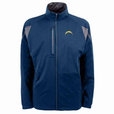 San Diego Chargers Mens Highland Water Resistant Jacket (Team Color: Navy)