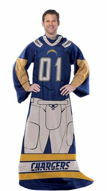 San Diego Chargers Huddler Wrap (Uniform)