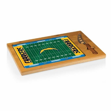 San Diego Chargers Icon 3 Piece Cheese Set