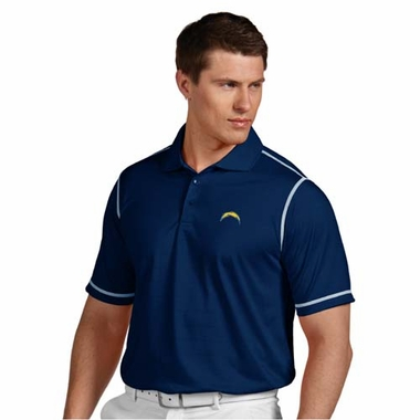 San Diego Chargers Mens Icon Polo (Team Color: Navy)