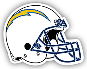 San Diego Chargers Individual Car Magnet