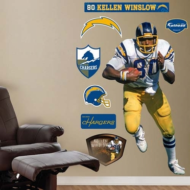 San Diego Chargers Kellen Winslow Fathead Wall Graphic