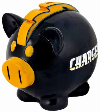 San Diego Chargers Large Thematic Piggy Bank