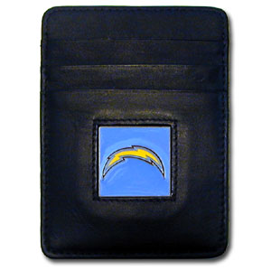 San Diego Chargers Leather Money Clip (F)