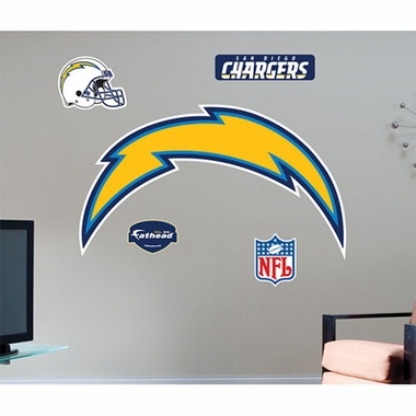 San Diego Chargers Logo Fathead Wall Graphic