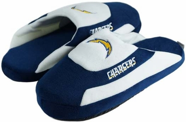 San Diego Chargers Low Pro Scuff Slippers