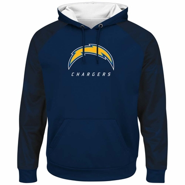 San Diego Chargers Majestic Armor 2 Men S Pullover Hooded