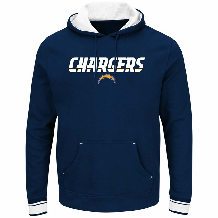 San Diego Chargers Hoodie: San Diego Chargers Majestic Championship Men's Pullover