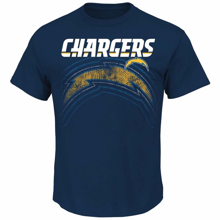 San Diego Chargers Majestic Empty Backfield Men S Short