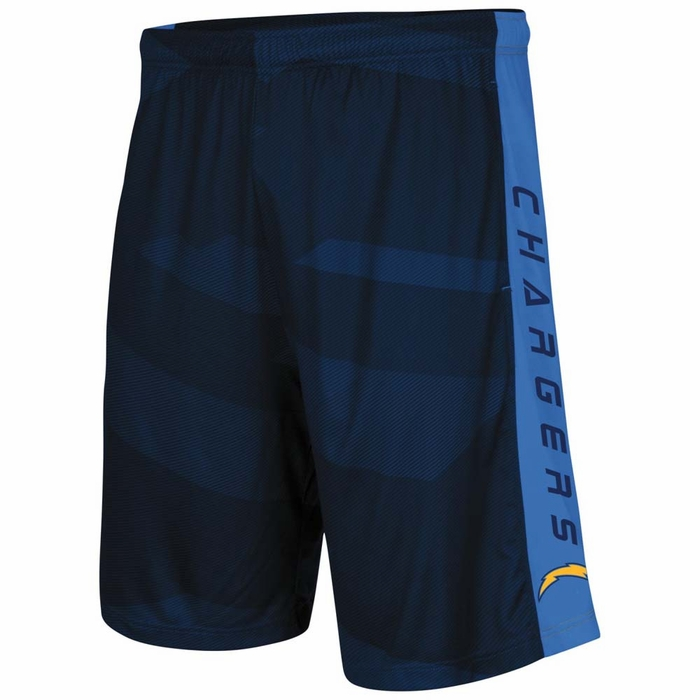 San Diego Chargers Majestic Out Run Men S Synthetic Shorts