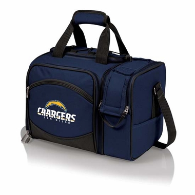 San Diego Chargers Malibu Picnic Cooler (Navy)