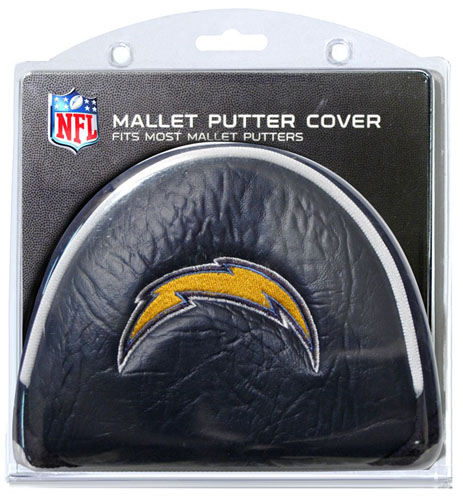 San Diego Chargers Canopy: San Diego Chargers Mallet Putter Cover