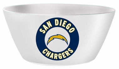 San Diego Chargers Melamine Serving Bowl