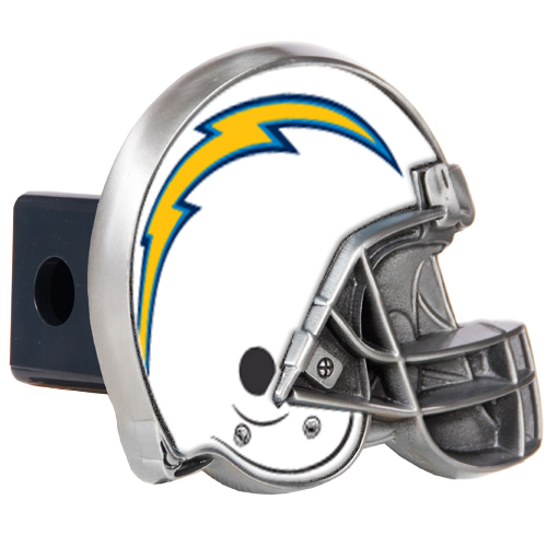 San Diego Chargers Chair: San Diego Chargers Metal Helmet Trailer Hitch Cover