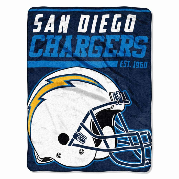 San Diego Chargers Canopy: San Diego Chargers Microfiber Throw