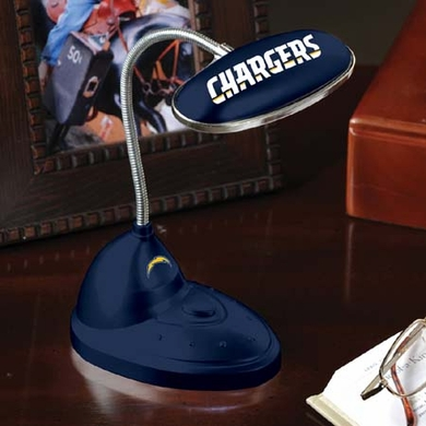 San Diego Chargers Mini LED Desk Lamp