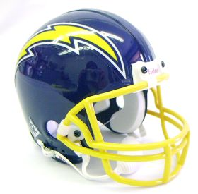 San Diego Chargers Mini Replica Throwback Football Helmet