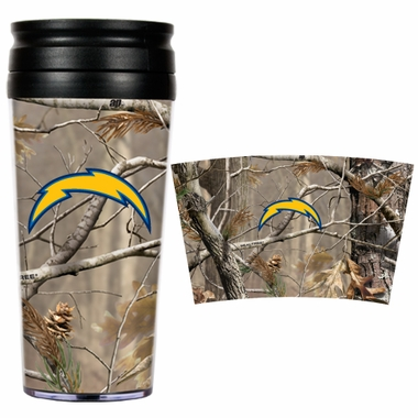 San Diego Chargers Open Field Acrylic Travel Tumbler