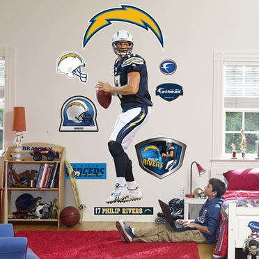 San Diego Chargers Philip Rivers Fathead Wall Graphic