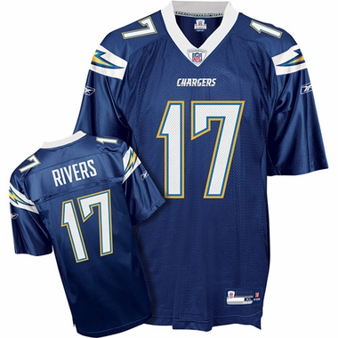 San Diego Chargers Phillip Rivers Reebok Replica Team Color Jersey