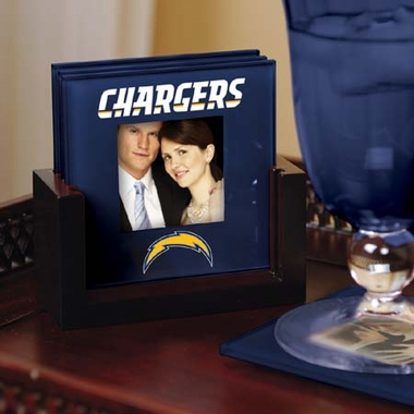 San Diego Chargers Photo Coaster Set