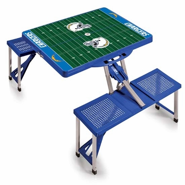 San Diego Chargers Picnic Table Sport (Blue)