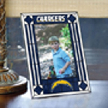San Diego Chargers Portrait Art Glass Picture Frame