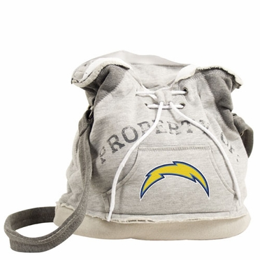 San Diego Chargers Property of Hoody Duffle