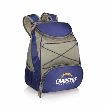 San Diego Chargers PTX Backpack Cooler (Navy)