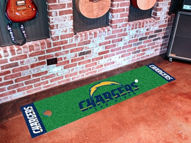 San Diego Chargers Putting Green Mat