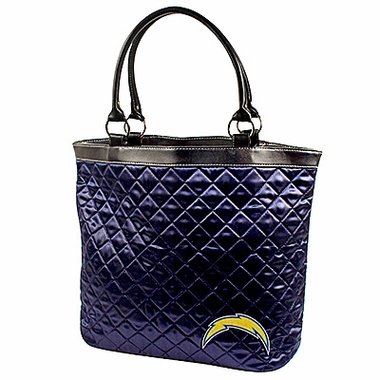 San Diego Chargers Quilted Tote