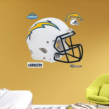 San Diego Chargers Revolution Helmet Fathead Wall Graphic