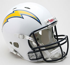 San Diego Chargers Riddell Full Size Authentic Revolution Helmet