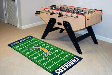 San Diego Chargers Runner Rug