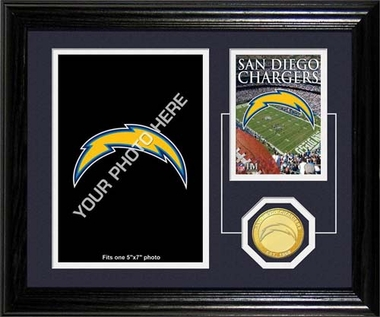 San Diego Chargers San Diego Chargers Framed Memories Desktop Photo Mint